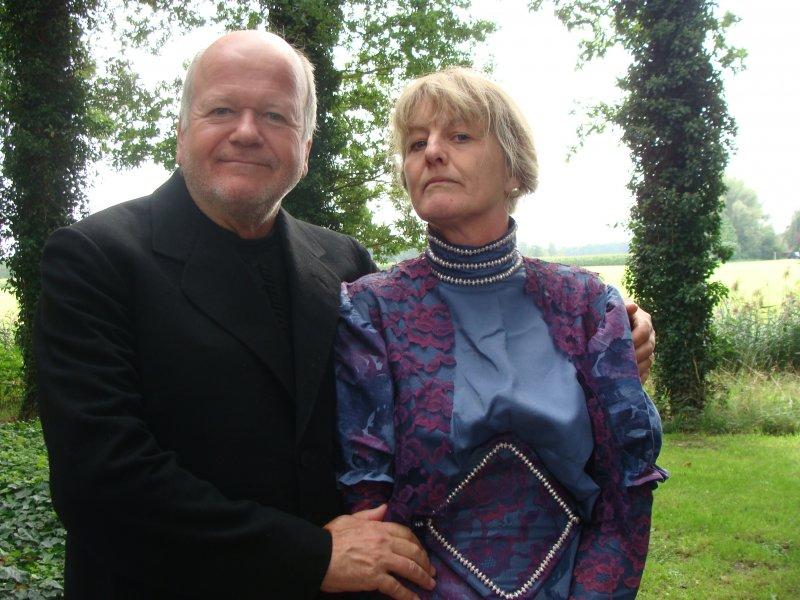Het echtpaar Ruebel